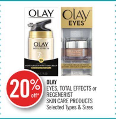 Olay Eyes - Total Effects or Regenerist Skin Care Products
