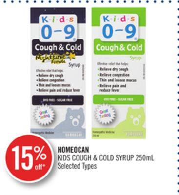 Homeocan Kids Cough & Cold Syrup