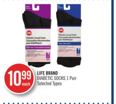 Life Brand Diabetic Socks