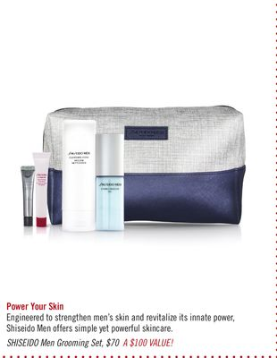 Shiseido Men Grooming Set