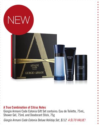 Giorgio Armani Code Colonia Deluxe Holiday Set