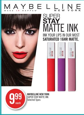Maybelline New York Super Stay Matte Ink