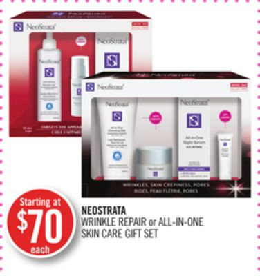 Neostrata Wrinkle Repair or All-in-one Skin Care Gift Set