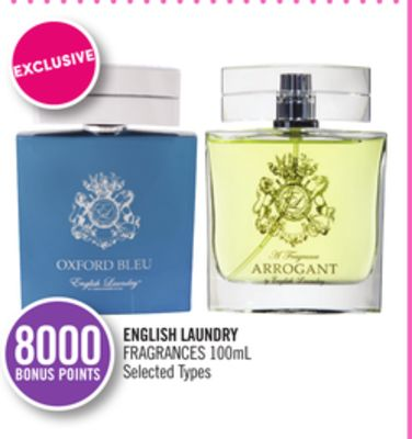 English Laundry Fragrances