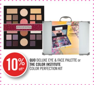 Quo Deluxe Eye & Face Palette or The Color Institute Color Perfection Kit