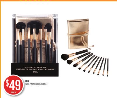 Quo Roll And Go Brush Set
