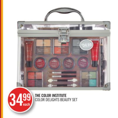 The Color Institute Color Delights Beauty Set
