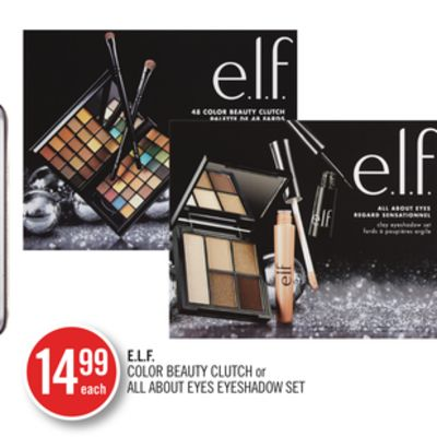 E.l.f. Color Beauty Clutch or All About Eyes Eyeshadow Set