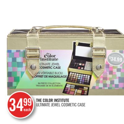 The Color Institute Ultimate Jewel Cosmetic Case