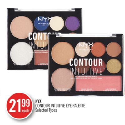 Nyx Contour Intuitive Eye Palette