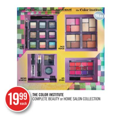 The Color Institute Complete Beauty or Home Salon Collection