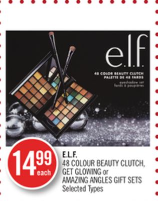 E.l.f. 48 Colour Beauty Clutch - Get Glowing or Amazing Angles Gift Sets