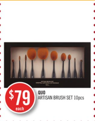 Quo Artisan Brush Set