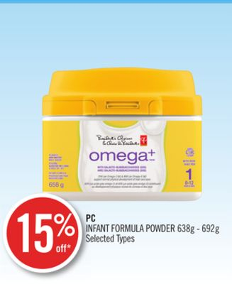 PC Infant Formula Powder