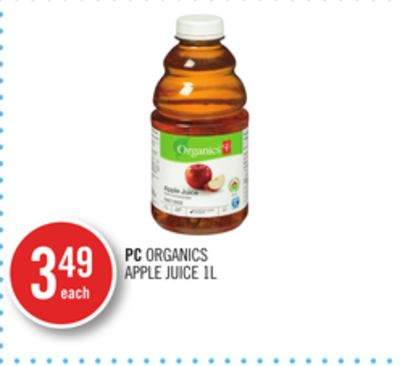 PC Organics Apple Juice