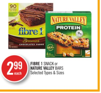 Fibre 1 Snack or Nature Valley Bars