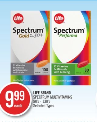 Life Brand Spectrum Multivitamins