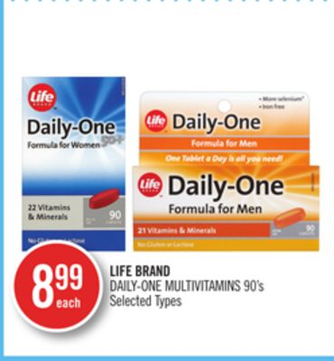Life Brand Daily-one Multivitamins
