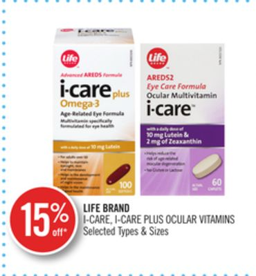 Life Brand I-care - I-care Plus Ocular Vitamins