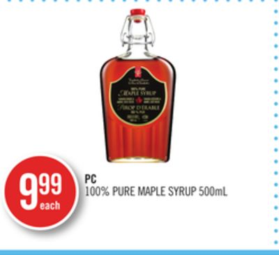 PC 100% Pure Maple Syrup