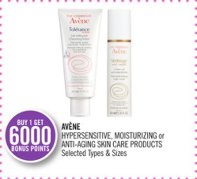 Avène Hypersensitive - Moisturizing or Anti-aging Skin Care Products