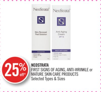 Neostrata First Signs Of Aging - Anti-wrinkle or Mature Skin Care Products