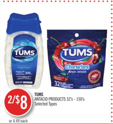 Tums Antacid Products
