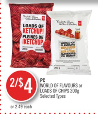 World Of Flavours or Loads Of Chips