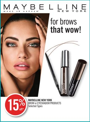Maybelline New York Brow or Eyeshadow Products