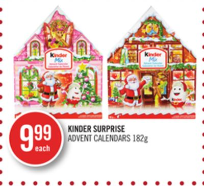 Kinder Surprise Advent Calendars