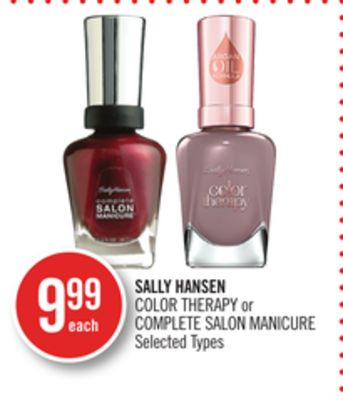 Sally Hansen Color Therapy or Complete Salon Manicure