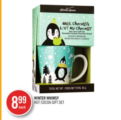 Winter Whimsy Hot Cocoa Gift Set