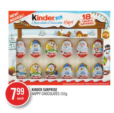 Kinder Surprise Happy Chocolates