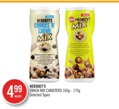 Hershey's Snack Mix Canisters