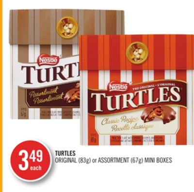 Turtles Original (83g) or Assortment (67g) Mini Boxes