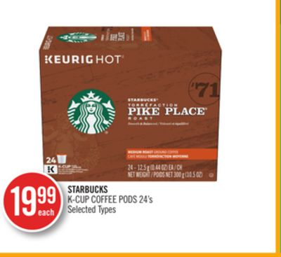 Starbucks K-cup Coffee PODS
