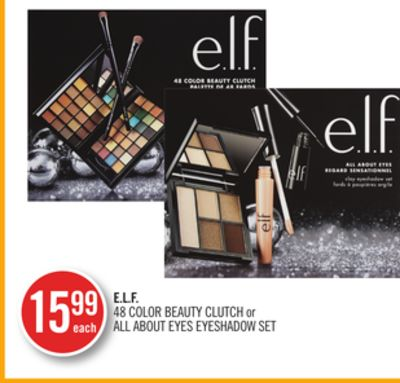E.l.f. 48 Color Beauty Clutch or All About Eyes Eyeshadow Set