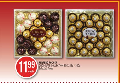 Ferrero Rocher Chocolate Collection Box 206g-300g