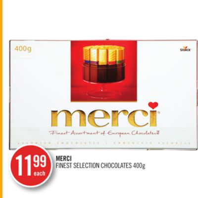Merci Finest Selection Chocolate
