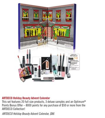 Artdeco Holiday Beauty Advent Calendar