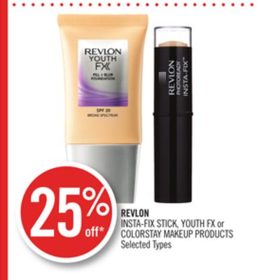 Revlon Insta-fix Stick - Youth Fx or Colorstay Makeup Products