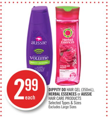 Dippity Do Hair Gel (350ml) - Herbal Essences or Aussie Hair Care Products