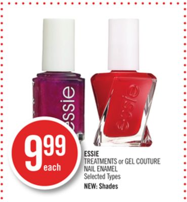 Essie Treatments or Gel Couture Nail Enamel