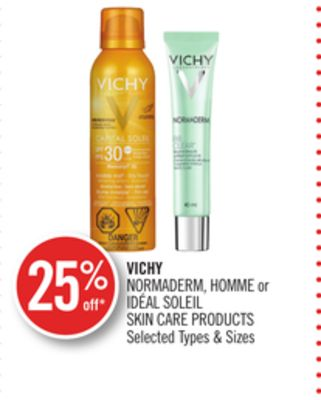 Vichy Normaderm - Homme or Idéal Soleil Skin Care Products