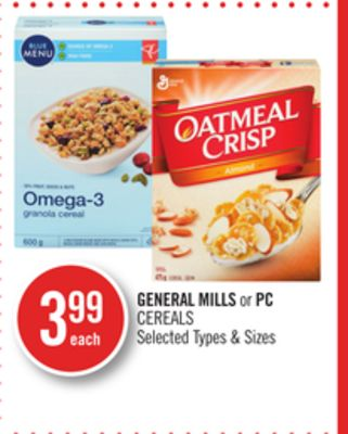 General Mills or PC Cereals