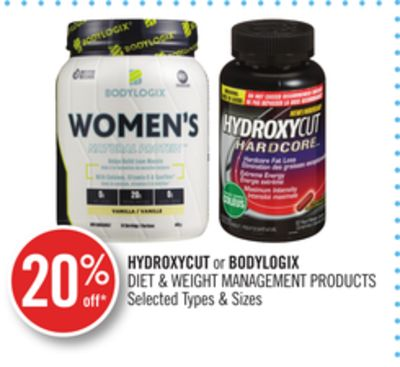 Hydroxycut or Bodylogix Diet & Weight Management Products