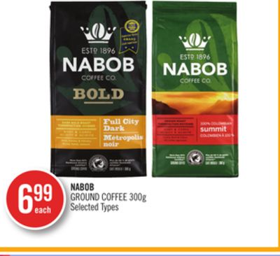 Nabob Ground Coffee 300g