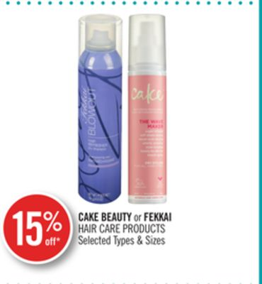 Cake Beauty or Fekkai Hair Care Products