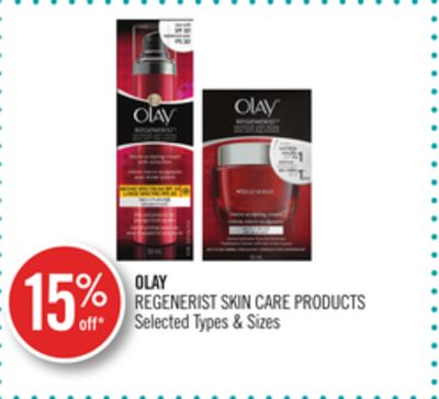 Olay Regenerist Skin Care Products