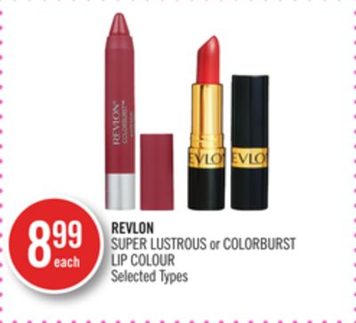 Revlon Super Lustrous or Colorburst Lip Colour